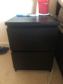 2 Chests of 2 Drawers - IKEA - Perfect Condition