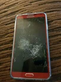 Galaxy Note 3 spares or repair
