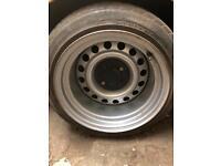 """Vw 14"""" banded steel wheels"""