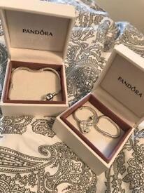 2x pandora bracelets