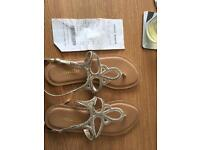 Accessorise sandals size 3 - new, perfect condition