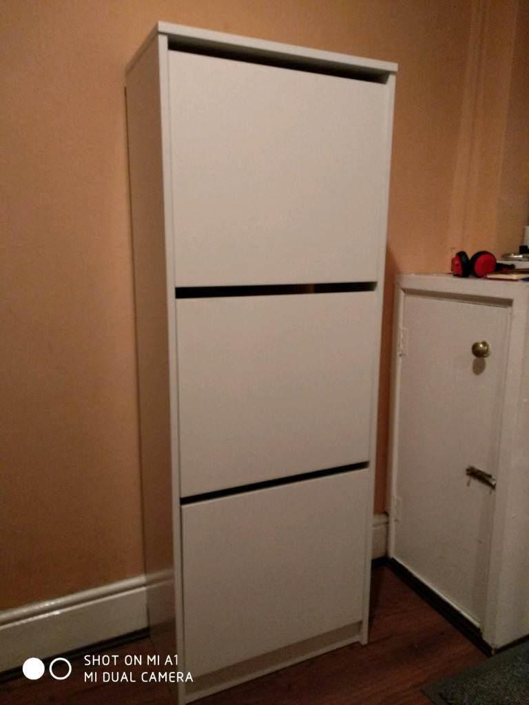 Bissa shoe cabinet white