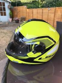 LS2 flip front crash helmet