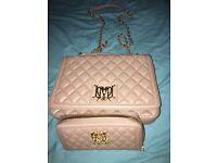 Moschino handbag and purse set