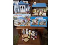 SYLVANIAN FAMILIES ASSORTED TOY BUNDLE £30.