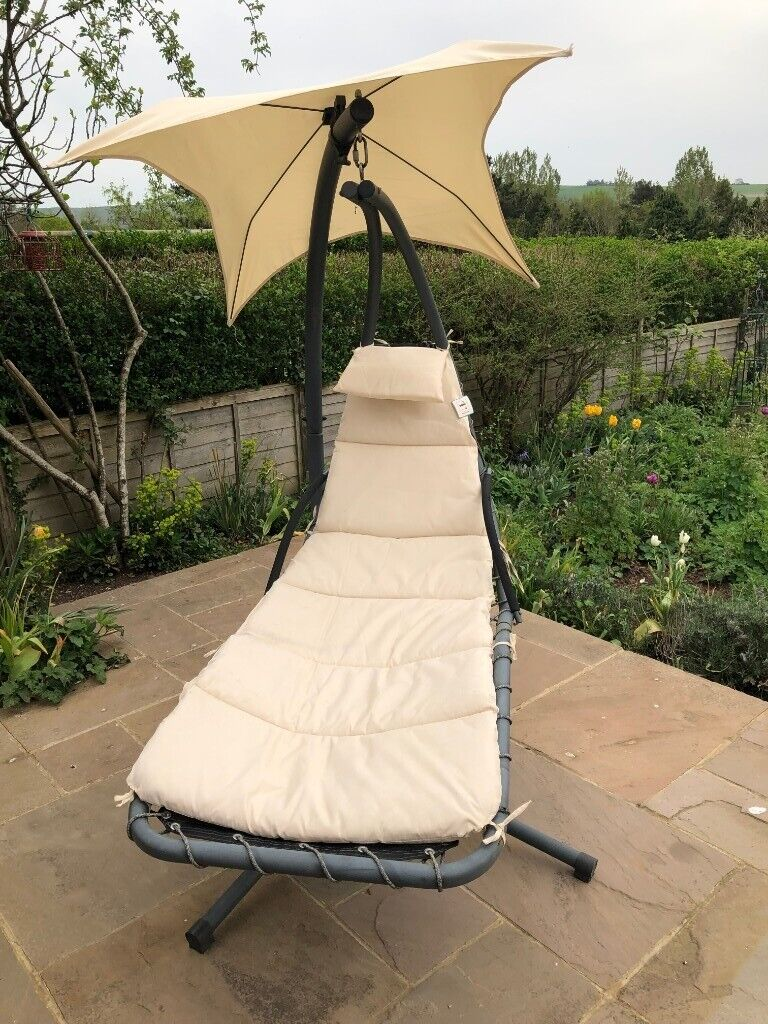 Awesome Garden Hanging Hammock Sun Lounger In Hassocks West Sussex Gumtree Home Remodeling Inspirations Propsscottssportslandcom
