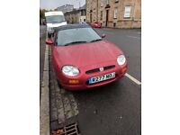 MG MGF WITH ONLY 44000 MILES 10 MONTHS MOT MAY SWAP