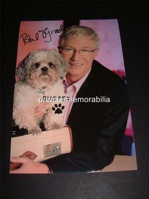 THE PAUL O'GRADY SHOW SIGNED REPRINT PHOTOGRAPH + BUSTER THE DOG