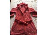 Girls Hello Kitty M&S 5-6 dressing gown