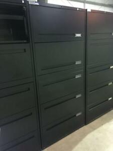 """30""""W Teknion 5 Drawer Lateral Filing Cabinet - $325"""