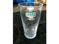 BEER GLASS - PINT - COBRA BEER
