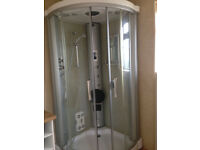 Eden Milan 1000 Shower and Sauna Enclosure (Used)