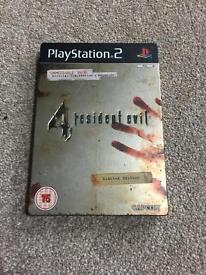 Resident evil 4 limited edition ps2