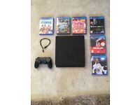 Ps4 slimline with loads of games