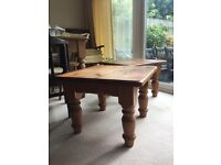 "Pine coffee tables two 24"" x 24"" Watford £15 each"