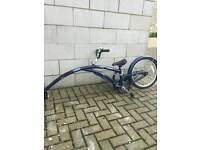 Adams trail-a-bike (folds)
