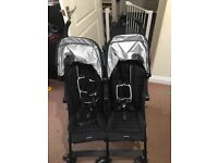 Maclaren Twin Triumph double buggy