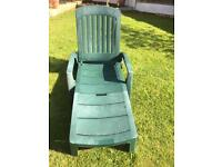 Garden reclining bed / day chair