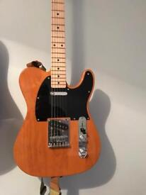 Fender affinity squier telecaster- butterscotch blonde