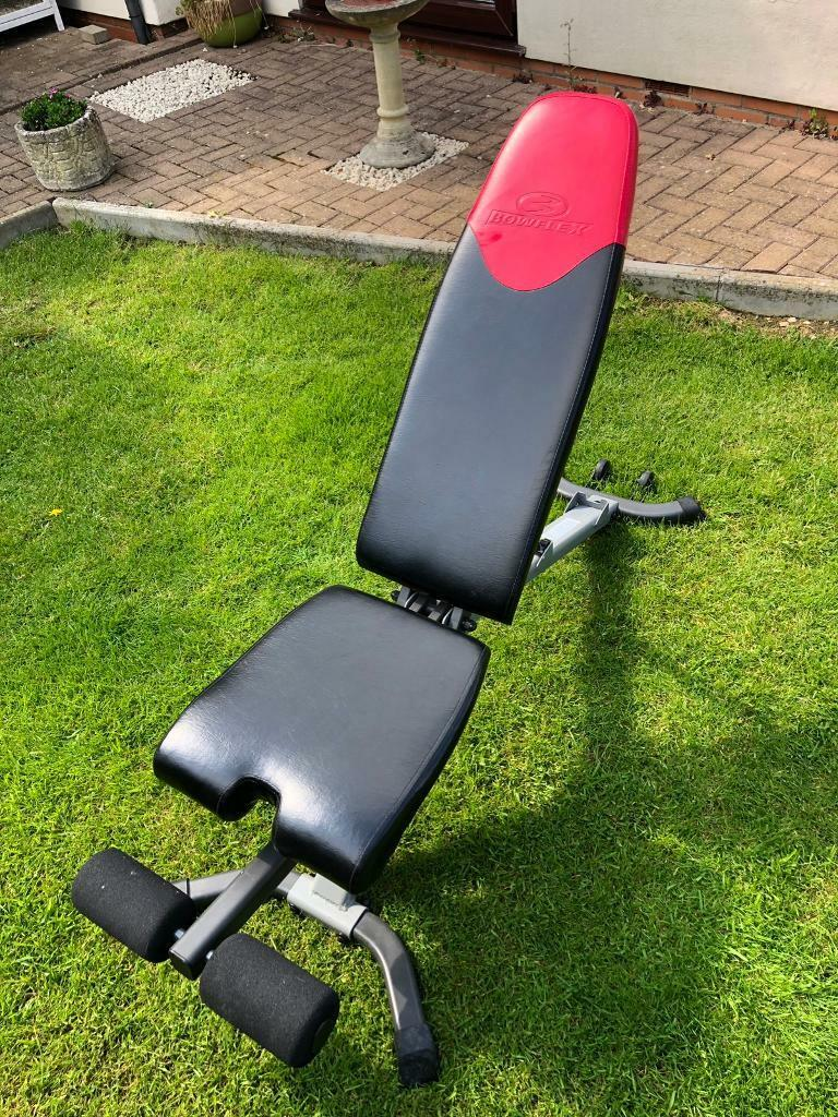 Amazing Bowflex Weights Bench In Cam Gloucestershire Gumtree Ocoug Best Dining Table And Chair Ideas Images Ocougorg