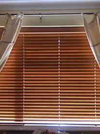 Wooden Oak Coloured blind