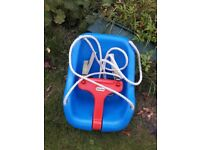Little Tikes swing seat with adjustable straps