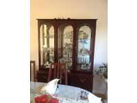 very good condition display room cabinets