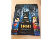 Lego canvas picture
