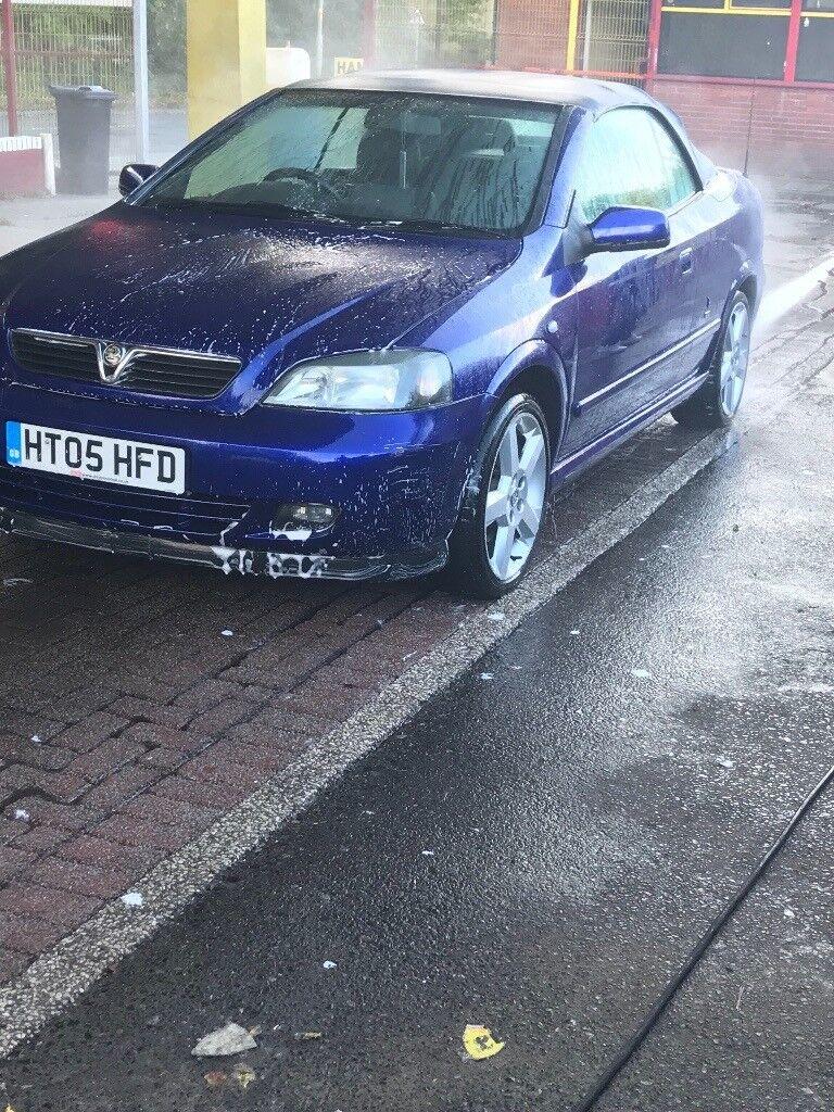 Vauxhall Astra convertible 1.8 bertone