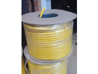 ELECTRIC CABLE 100M DRUM 3 CORE 2.5MM TWIN AND EARTH.. WIRING,POWER TOOLS,EXTENSION