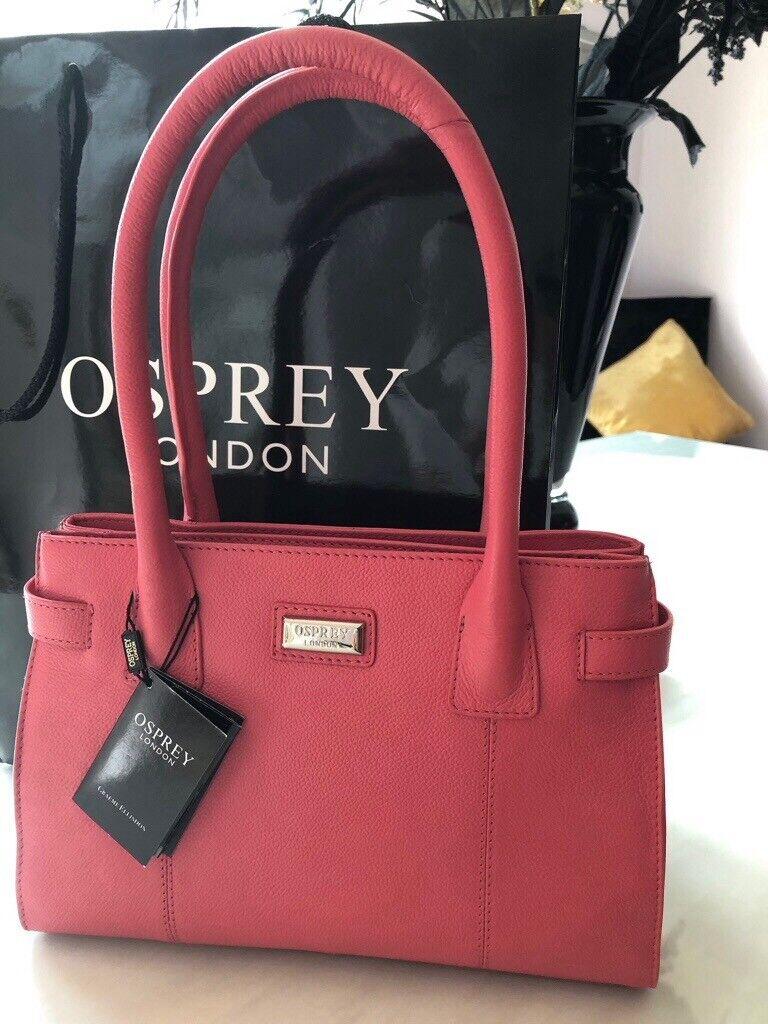 21a1d9ed8 Osprey leather handbag