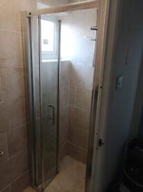 Hinged Shower Door 78cm x 190cm