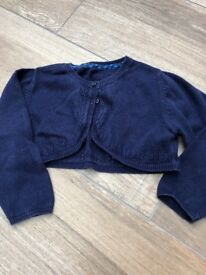 M&S short cardigan 18-24 months