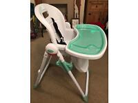 Babystart folding high chair - New