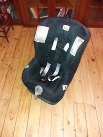 Britax car seat 0-4 years 0-18kg
