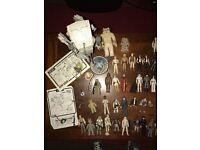WANTED! Star Wars Toys 70's 80's Collections CASH WAITING! Can collect!