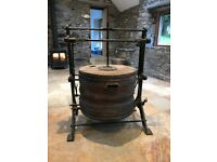 Antique Blacksmith's bellows in good condition