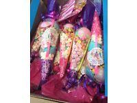 30x Children's party favour sweetie cones