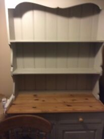 Hand Painted Double Dresser Solid Pine