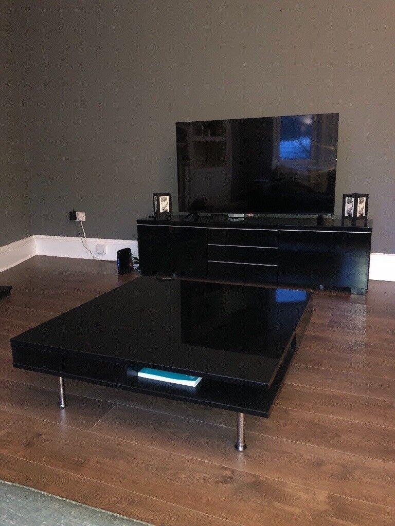 Ikea Besta Tv Unit With Free Coffee Table In Greenock Inverclyde - Besta coffee table