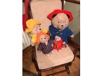 Four Paddington Bears