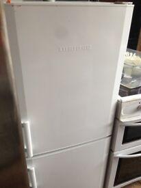 White lieberr Fridge freezer Medium.....Mint Free Delivery