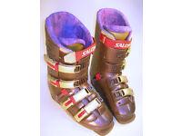 SALOMON Evolution 8.1 Purple Ski Boots & Carry Bag L=312mm (WH_0298)