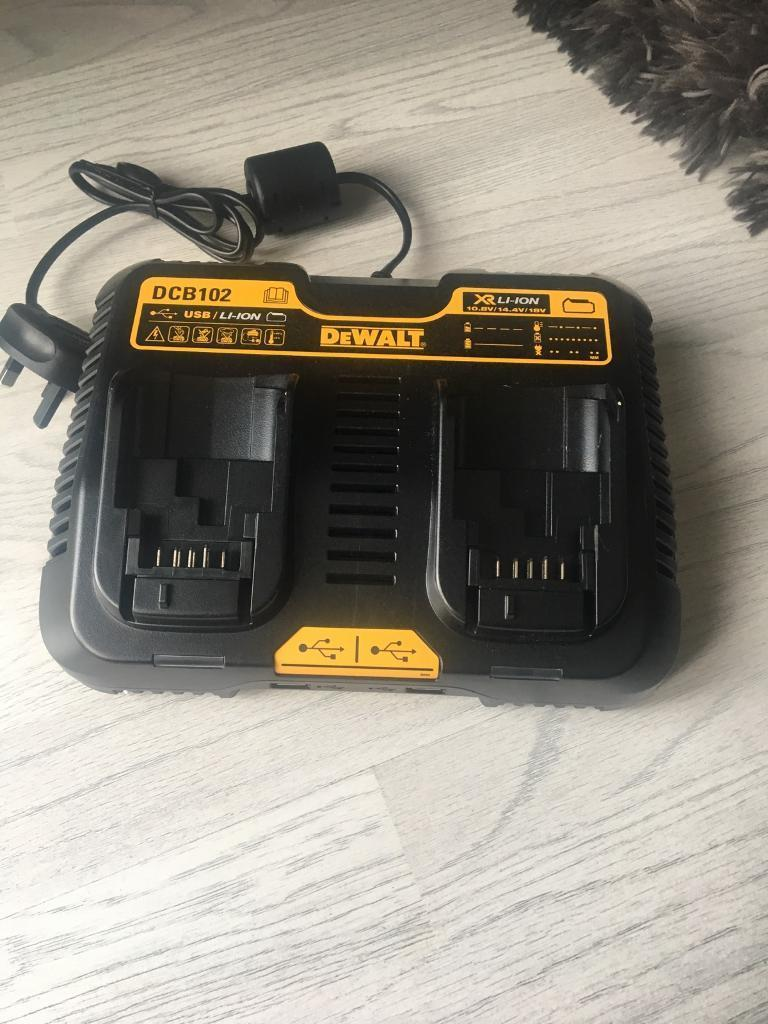 Dewalt Twin charger XRLI-ION