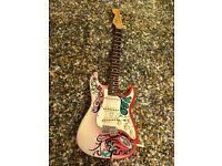 Luthier Built Monterey Hendrix Stratocaster. USA Fender parts, handwound $400 boutique '69 pickups