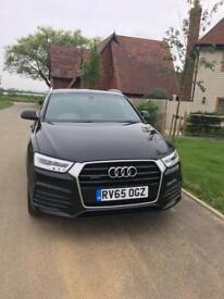 Audi Q3 2.0tdi Quattro S-Line Plus 65 plate