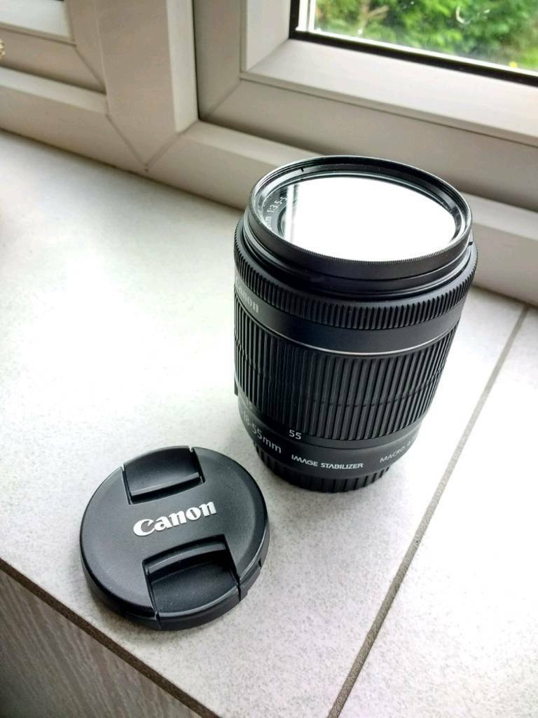 Canon 18-55mm EFS lens with UV filter