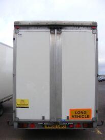 Trucksmith 3500 kg trailer with polycarbonate Body