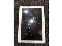 Samsung tablet 2- white