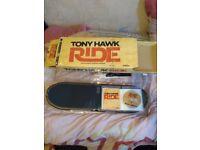Tony hawk ride skateboard and game